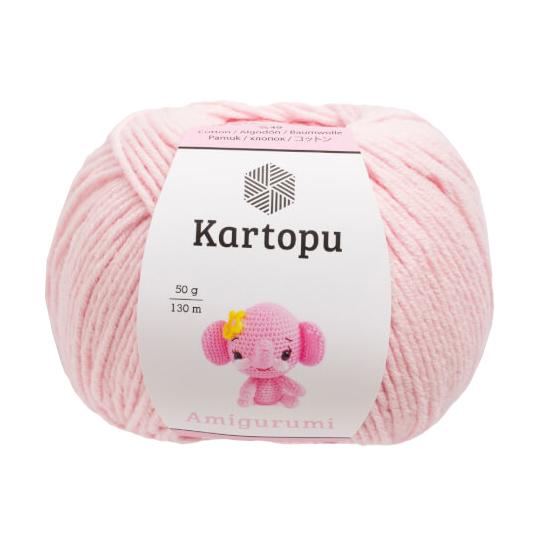 Kartopu Fine Crochet Yarn, Pastel Blue - K1551 - Hobiumyarns | 540x540