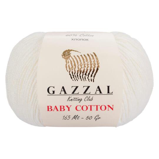 Gazzal Baby Cotton 3432 Beyaz 10'lu Paket
