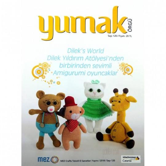 Yumak Amigurumi Dergi Sayı:120