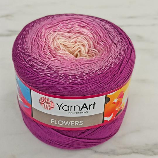Yarnart Flowers Ebruli